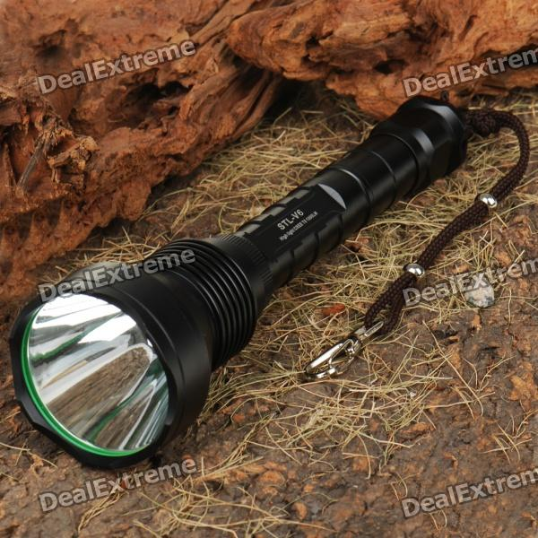 FandyFire STL-V6 2-Group 975-Lumen White LED Flashlight w/ CREE XM-LT6 (2x18650/3x16340/3x123A) fandyfire f101 5 mode 250 lumen white led flashlight w cree r2 wc strap 1x18650 1x17670 2x16340
