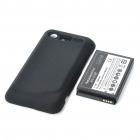 High Capacity 3.7V 3500mAh Battery Pack + Back Cover Case for HTC Incredible S S710E
