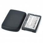 Replacement Rechargeable 3.7V 3000mAh Battery Pack + Back Cover Case for Blackberry 9700 - Black