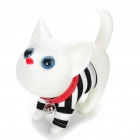 Cute Cat Style Desk Display Toy Coin Bank - White