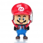 Cute Mario Face Changing Figure Toy Keychain (Random Color)