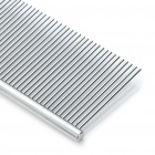 Stainless Steel Pet Dog Comb - Silver