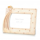 "Elegant Angel Style Polyresin Photo Frame (3.5"" x 5"" Picture)"