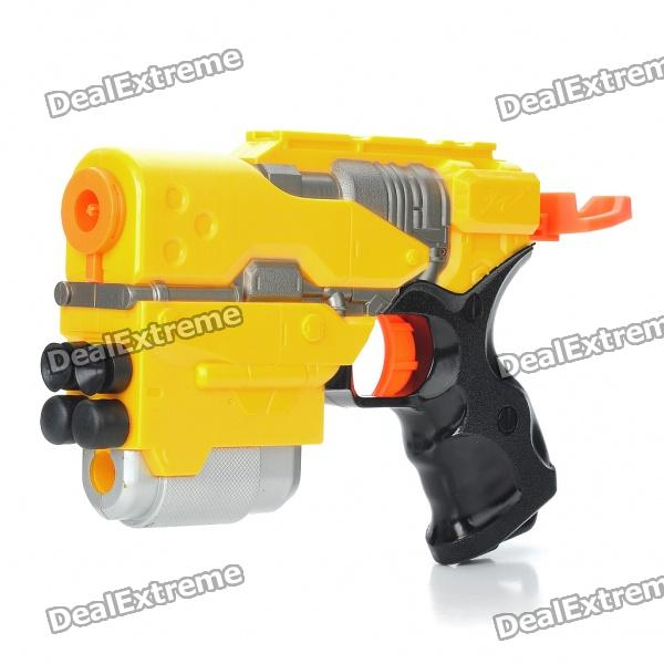 Super Power Plastic Shooting Gun with 4 Sponge Bullets 2018 xilei highly realistic plastic for pigeon duck decoy motorized with stick for hunting shooting with spinning wings