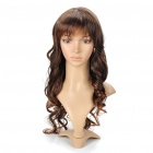 Fashion Long Curly Hair Wig - Brownish Yellow