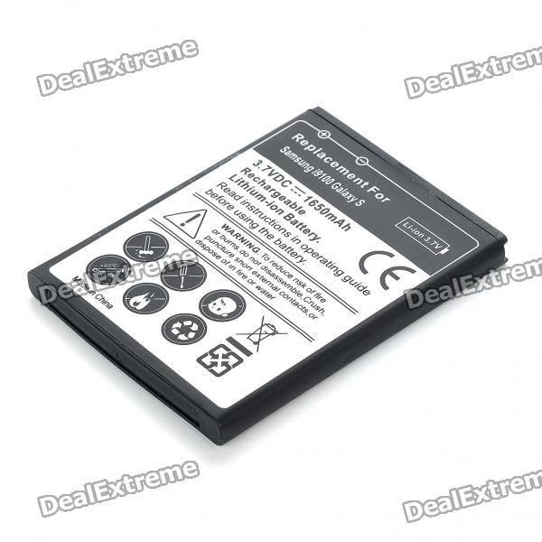 Replacement 3.7V 1650mAh Battery for Samsung i9100 Galaxy S2