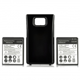 Replacement 3.7V 3500mAh + 1800mAh Battery w/ Battery Cover Set for Samsung i9100 Galaxy S2