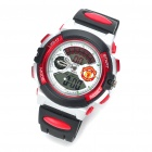 Waterproof Football/Soccer Team Digital/Pointer Wrist Watch w/ Alarm/Timer - Man Utd (1 x 377S)