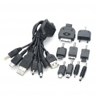 6-in-1 USB Charging Cable with 8 Adapters (70CM)
