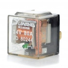 Water Resistant 4-Pin Car Power Relay (24V)