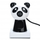 Cute Panda Style PC USB 2.0 CMOS 300K Pixel Webcam