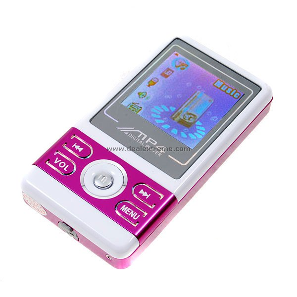 Stylish 1.5-inch FM + MP4 Player with Loud Speaker (1GB)