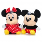 Mickey & Minnie Plush Toys USB Powered MP3 Music Speaker (3.5MM-Jack)