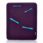 Multi-Purpose Protective Memory Foam Bag Case for Ipad/Ipad 2 (Purple)