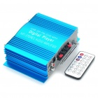 "1.8"" LCD 160W Hi-Fi Stereo MP3 Player Amplifier with FM/SD/USB for Car - Blue (DC 12V)"