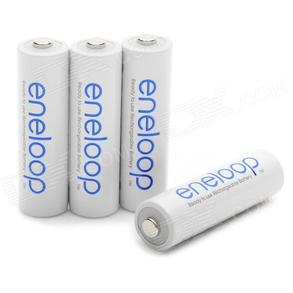Genuine Sanyo Rechargeable 1.2V 1900mAh AA Batteries (4-Piece Pack) energizer alkaline aa batteries 40 mega pack genuine and fresh
