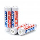 Rechargeable 1.2V 2500mAh AA Ni-MH Low Self Discharge / LSD Batteries (4-Piece Pack)