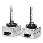 D1S 6000K 3400-Lumen Xenon HID Vehicle Headlamps (Pair/DC 12V)