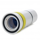 10x Zoom Telescope Lens with TrIpod & Back Case for Iphone 4 - White