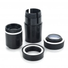 10x Zoom Telescope Lens with TrIpod & Back Case for Iphone 4 - Black