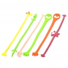 Cartoon Style Plastic Cable Twister Cable Tie - Random Style