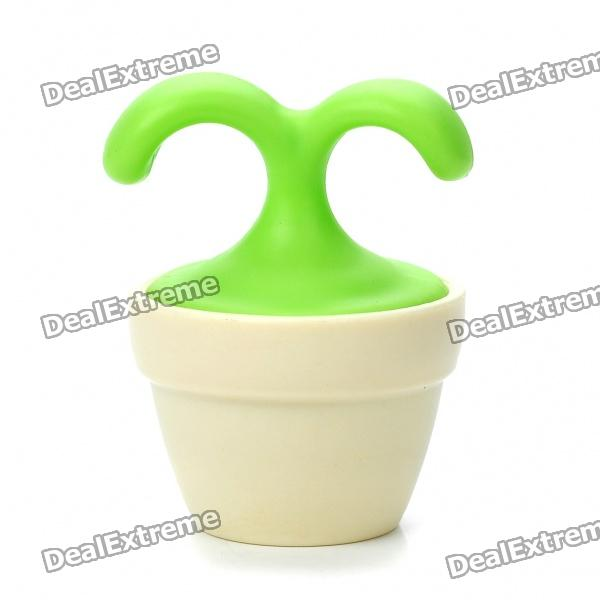 Cute Flower Pot Blood Circulation Promote Rolling Massager