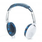 PC/Laptop Headphone with Microphone & Volume Control - White (3.5mm Jack/180CM Cable)