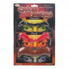 Costume Party Cosplay Fake Eyebrows Set (3-Pair)