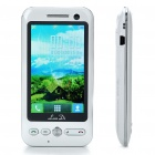 "3"" Touch Screen Dual SIM Dual Network Standby Dual-Band GSM Cell Phone w/ Java - White"