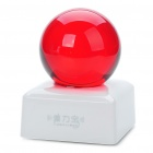 Unique Crystal Ball Shaped USB Powered Resonance Speaker - White + Red