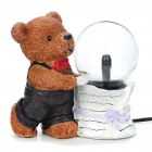"5"" Cartoon Bear Style Plasma Ball (210~250V/2-Round-Pin Plug)"