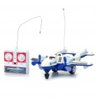 Thunderbirds Pioneer R / C 27MHz Airplane - Blue + White
