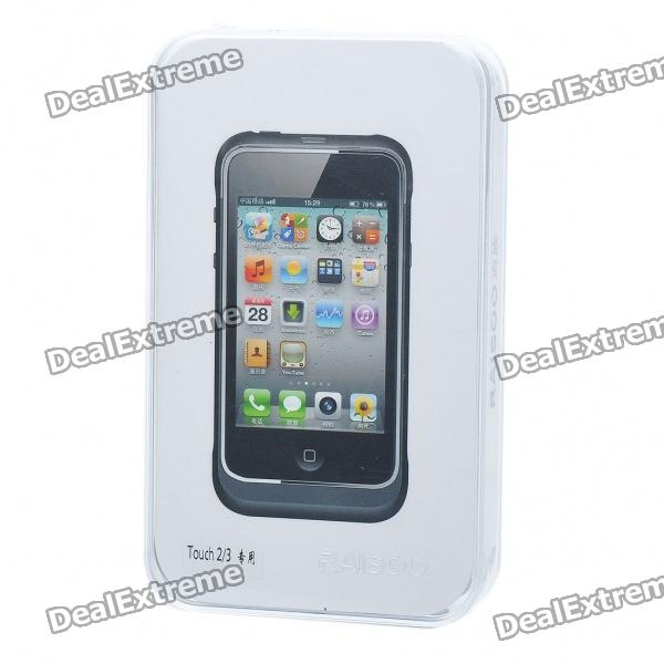 Designer's Apple Peel iPod Touch 2/3 to iPhone Convertor Device - Black