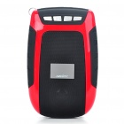 "Mini Portable 1.2"" LCD USB Rechargeable MP3 Music Speaker w/ FM/TF Slot - Red"