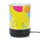 3-in-1 USB 2.0 4-Port HUB + MP3 Music Speaker + Pen Holder with Blue Light