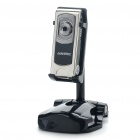 Mini Multi-Function CMOS Sensor Camera Camcorder with TF Slot - Black + Silver