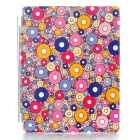 Stylish KINGSONS Protective Leather Smart Cover for iPad 2