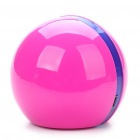 Mini Ball Style USB Powered Resonance Speaker - Deep Pink