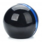 Mini Ball Style USB Powered Resonance Speaker - Black