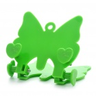 Butterfly Style Car Mount Holder w/ PU Rubbers for GPS