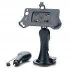 Car Swivel Mount Holder w/ Car Charger Set for HTC Desire S/G7S
