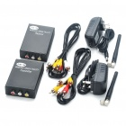 2.4GHz 4-Channel Wireless Audio Video AV Transmitter Receiver Kit (DC 9~12V)
