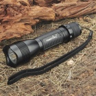 FANDFIRE F101 SSC-P7 3-Mode White 900LM LED Memory Flashlight w/ Strap (1 x 18650/1 x 17670)