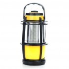 Vintage White 16-LED Bivouac Camping Lantern Light with Rotary Switch (3xAA)
