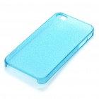 ROCK Ultrathin Protective Water Drop Style Back Case w/ Screen Protector for Iphone 4 - Blue