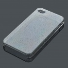 ROCK Ultrathin Protective Water Drop Style Back Case w/ Screen Protector for Iphone 4