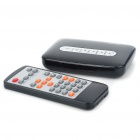 1080P Full HD Media Player with USB+SD/MMC+AV+YPrPb - Black