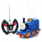 Cool 2-Channel R/C Thomas Wooden Train w/ Sound/Light Effects - 40MHz (3 x AA/2 x AA)
