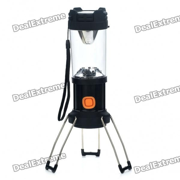 Retractable 1 x 3W P4 LED + 8 x LED 3-Mode Bivouac Camping Lantern Light w/ Strap (3 x AA) abtoys кукла фея цвет одежды фиолетовый