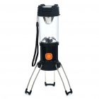 Retractable 1 x 3W CREE P4 LED + 8 x LED 3-Mode Bivouac Camping Lantern Light w/ Strap (3 x AA)
